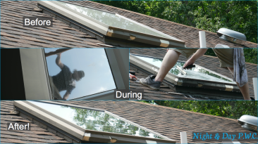 Skylights are no problem for us!