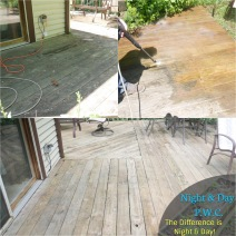 Residential Deck - Process & Result
