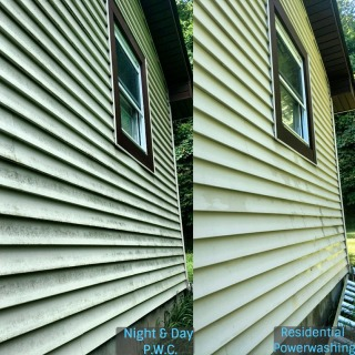 Residential Power Washing - Before & After